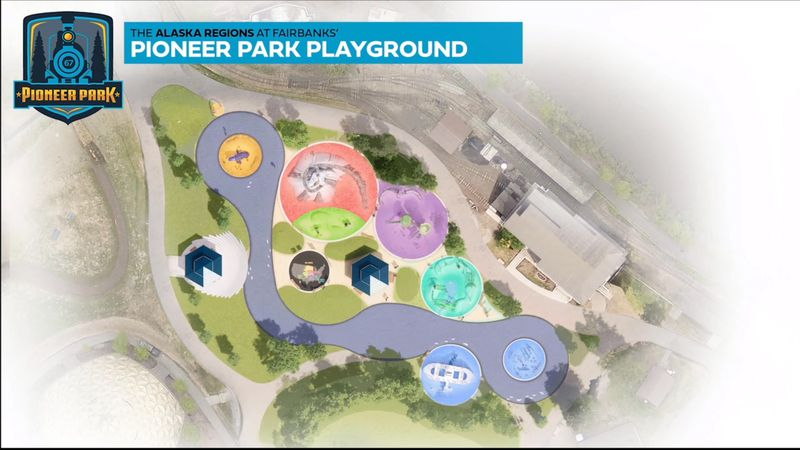 The Fairbanks North Star Borough is planning a new playground at Pioneer Park, one that is...