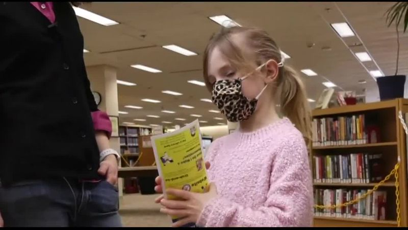 Library Card Kid