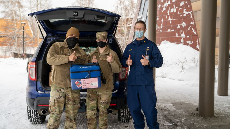 Tanana Chiefs Conference donates 800 doses of Moderna COVID-19 vaccine to Eielson AFB