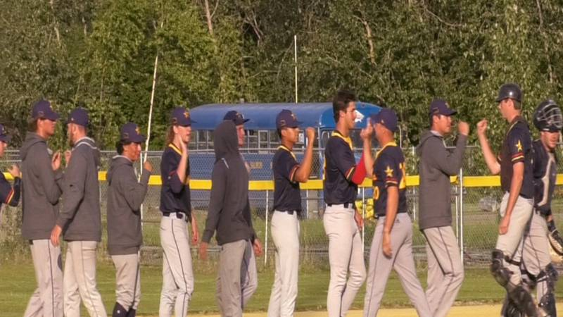 Ryan Pierce's 8th inning home run lifts Goldpanners over Orange County Riptide.