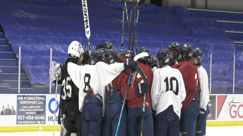 The Ice Dogs have returned to Fairbanks after playing the first 39 games of their season on the...