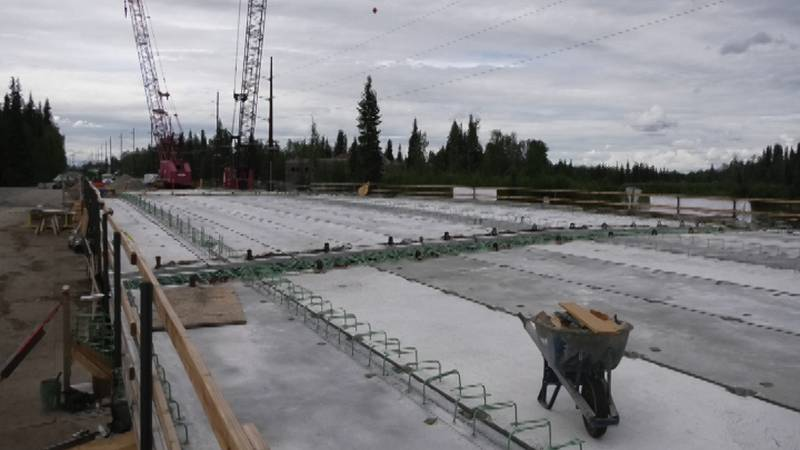 For the first time since 1963, University Avenue is getting a new bridge across the Chena...