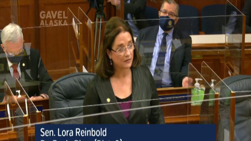 Lora Reinbold was removed as Chair of the Judiciary Committee in a vote of 17-1.