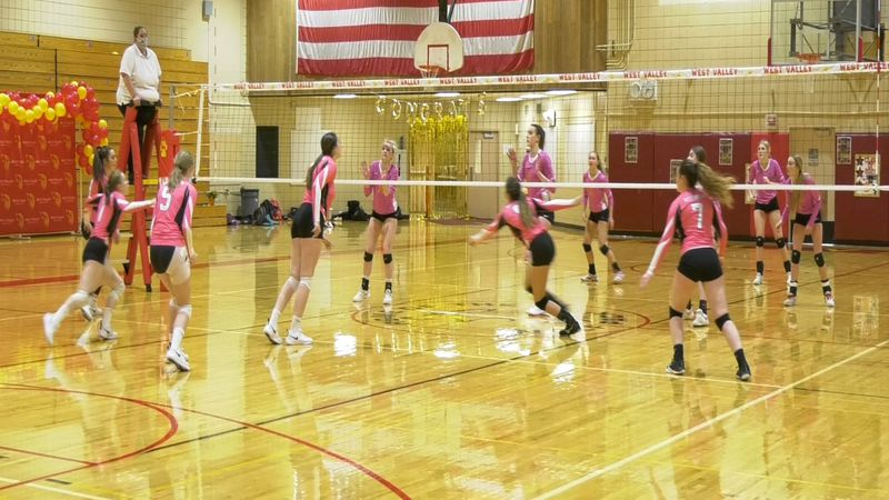 The West Valley Wolfpack volleyball program took on the Hutchison Hawks, sweeping them 3-0 on...