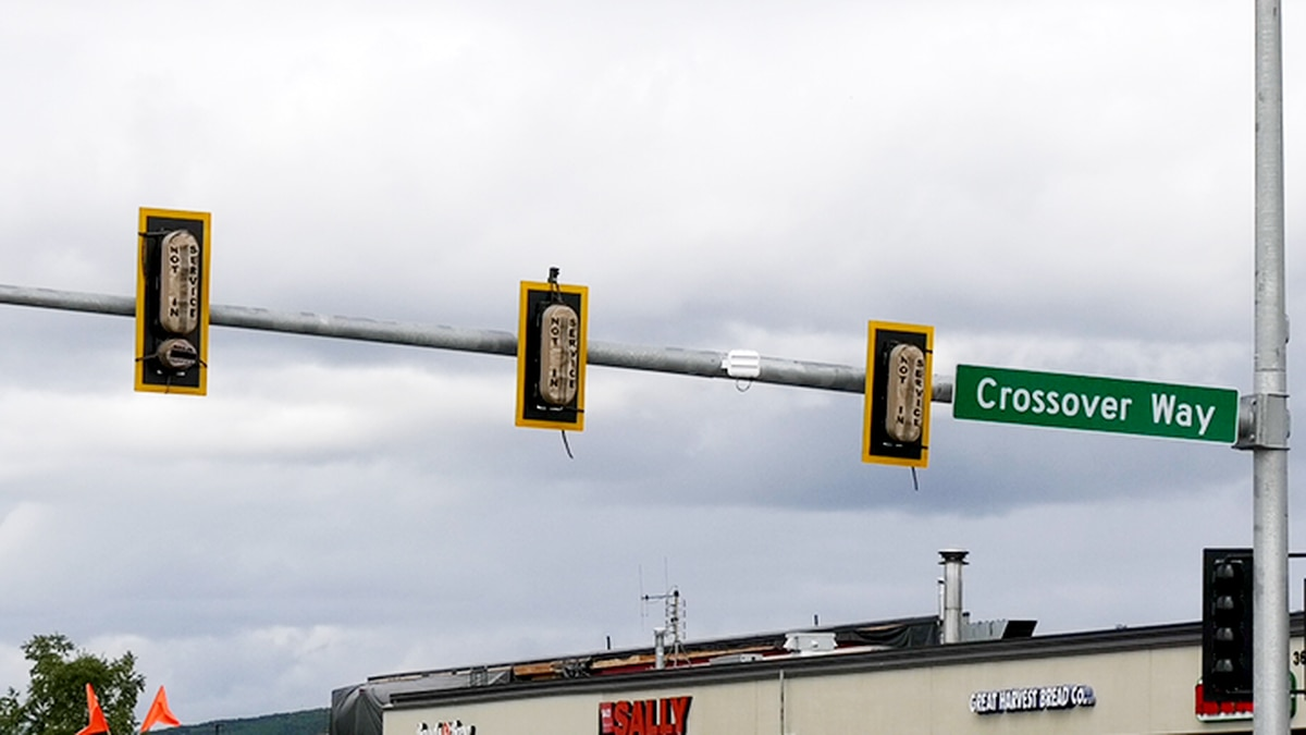 Improvements to traffic lights around Fairbanks are expected to increase traffic efficiency. (Ramzi Abou Ghalioum/KTVF)