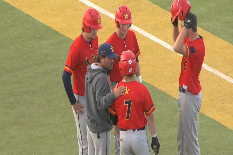 Goldpanners defeat OC Riptide 12-10 at Growden Memorial Park.