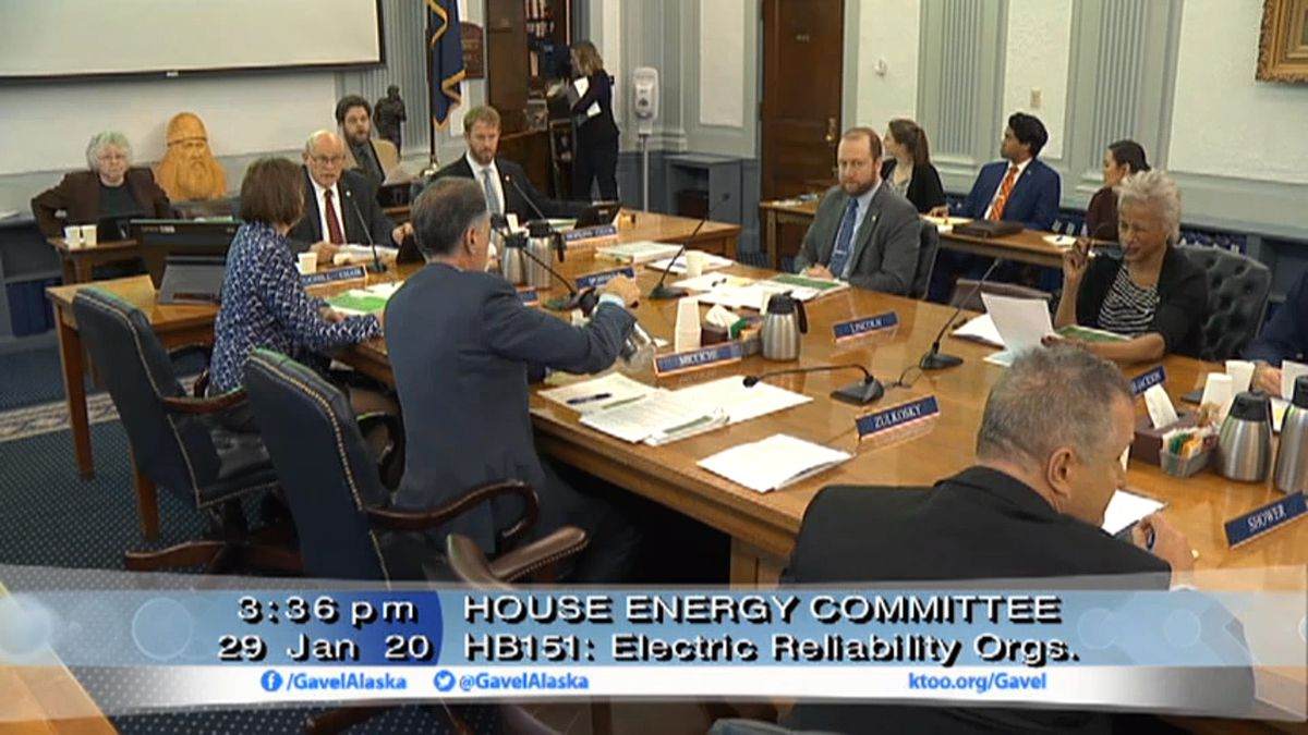 A hearing held before the House Energy Committee and the Senate Railbelt Electric System...