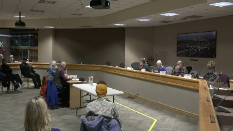 The Mona Lisa Drexler Assembly Chambers hosted the annual League of Women Voters of Tanana...