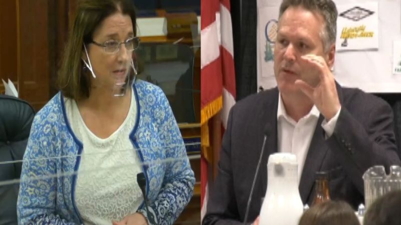 Governor Mike Dunleavy has sent a letter to Alaska State Senator Lora Reinbold condemning the...