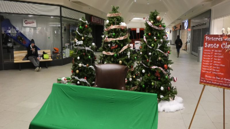 Shoppers at the Bentley Mall in Fairbanks on Thursday, December 24th revealed their holiday...
