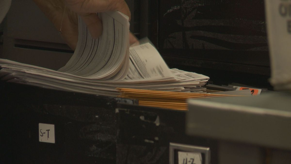 The witness requirement for absentee ballots has been waived by the Alaska Supreme Court....