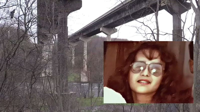 The remains of a pregnant teenager were found thrown over a bridge and into a river in 1976....