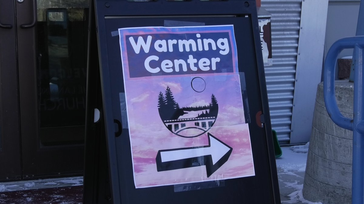 The warming center is open Monday through Friday from 1-6pm. (Alex Bengel/KTVF)