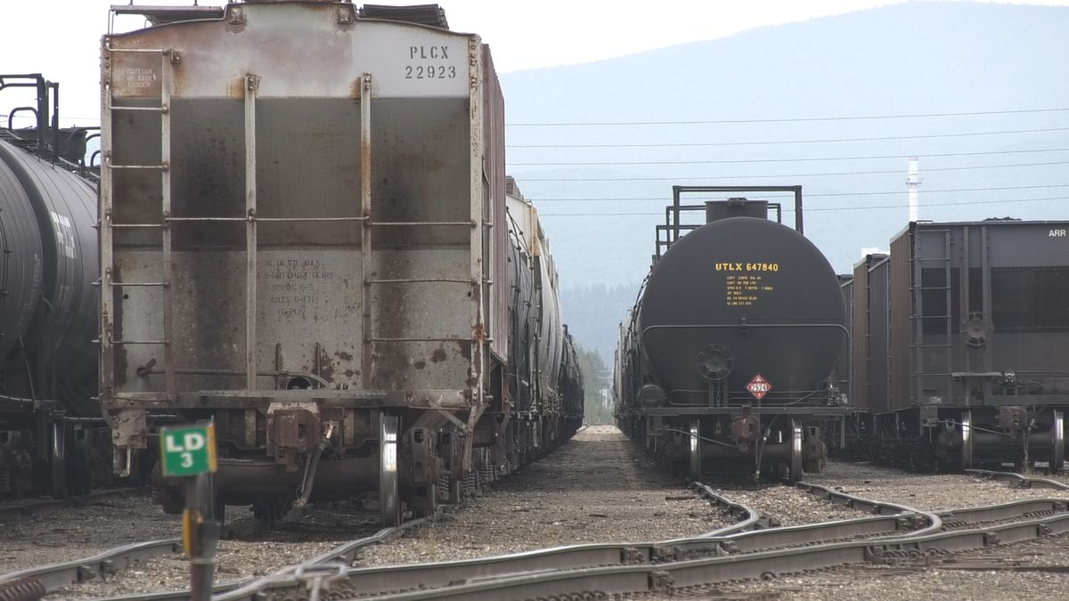 A rail line connecting Alaska to the Lower-48 through Canada is another step closer to reality...