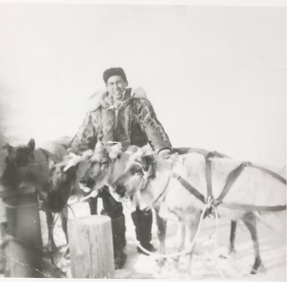 Bonnie Scheele's grandfather, Lawrence Davis, began the reindeer herding business in the...