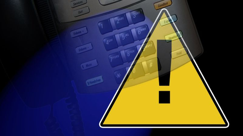 The scammers are claiming to be associated with the health department.