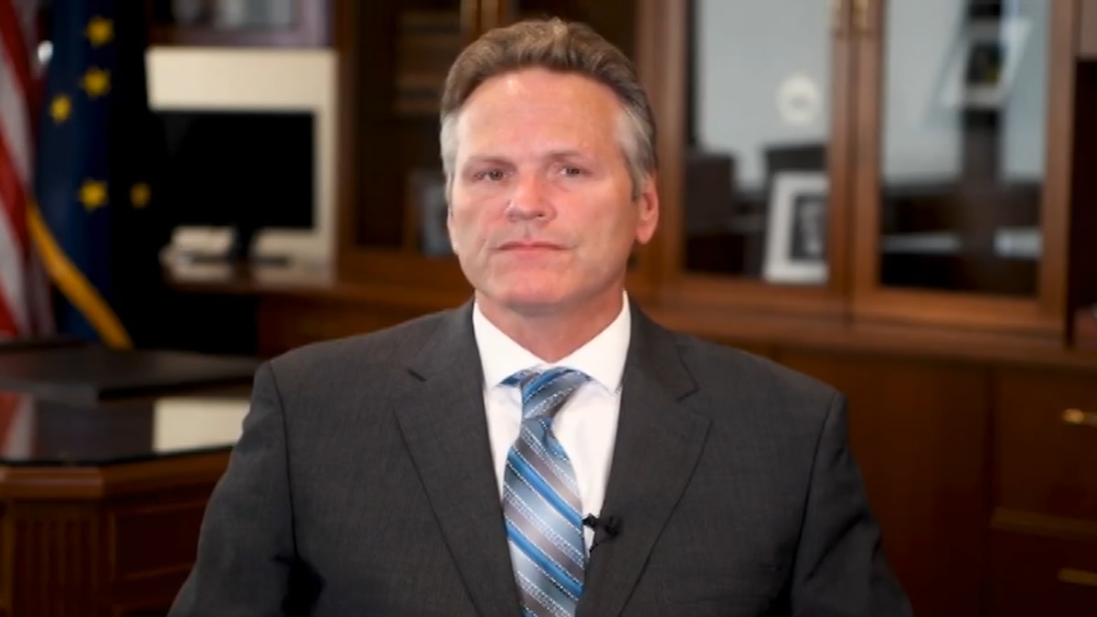 File Photo of Governor Dunleavy (KTVF)