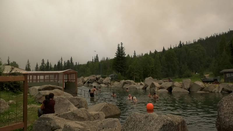 The Munson Creek Fire's evacuation level has been reduced.