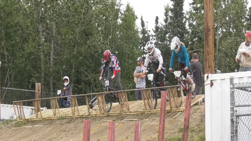 Far North BMXers take on state qualifiers. (Aaron Walling/KTVF, July 15, 2020)