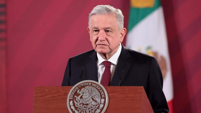 Mexico's president has previously been dismissive of measures to prevent transmission of...