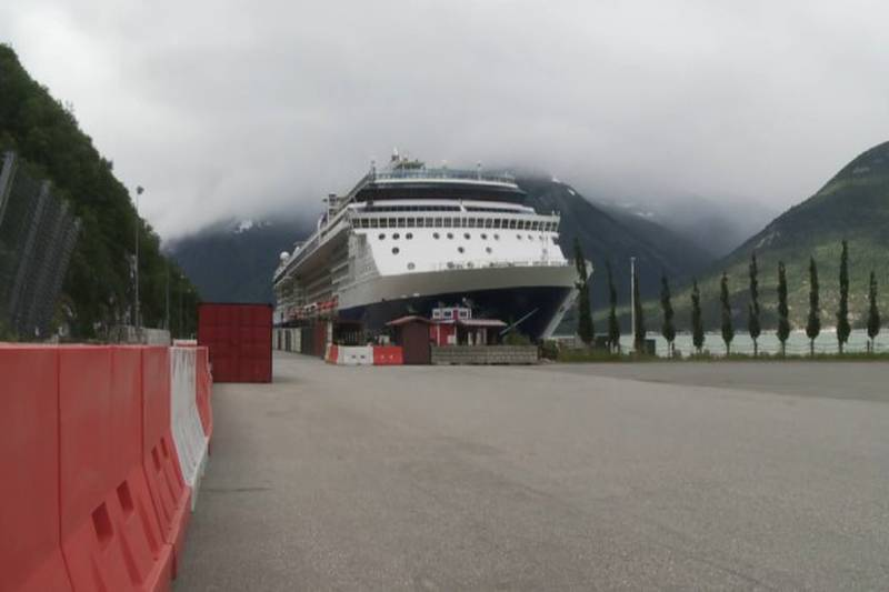 Cruise ships arrived in Skagway this summer for the first time in two years because of the...