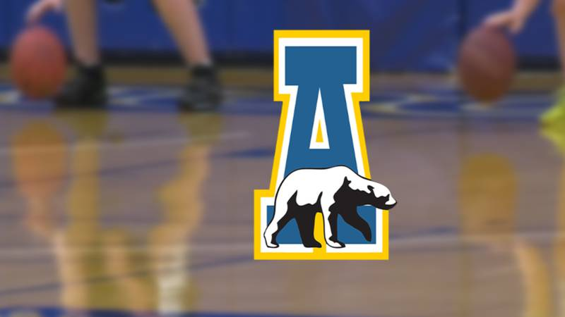 Players and coaches of the UAF Men's Basketball program trained youth players over a three-day...